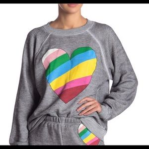 NWT Wildfox In Love Sommers Sweater